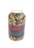 Flying Colors 0.12g Airsoft BBs in Bottle, 2000 ct, Assorted Colors