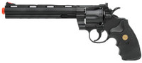 "UHC Airsoft Revolver 8"" Barrel - Black"