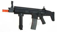 G&G Armament FN SCAR-L Officially Licensed AEG, Black - REFURBISHED