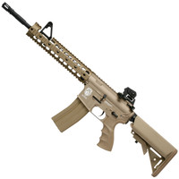 G&G Combat Machine Raider XL Blowback Tan Airsoft Rifle