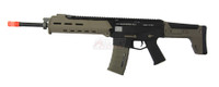 MAGPUL Licensed A&K Masada Full Metal ACR Airsoft Rifle - Black & Tan Two Tone Edition
