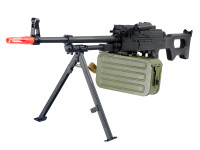 A&K PKM Full Metal Support Airsoft Rifle