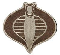UKARMS Cobra Commander Velcro Patch (Tan)