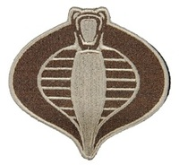 UKARMS Cobra Commander Velcro Patch (Tan)