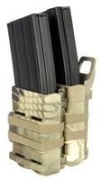 Emerson Quick Draw Double M4 Magazine Holster - Highlander Camo