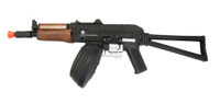 Kalashnikov AK74SU Full Metal AEG with 2,500 rd. Drum Mag CQB Destruction Combo