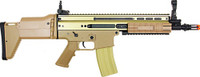 AGM SCAR Metal GB AEG Airsoft Rifle, Tan