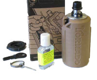 AI Tornado Grenade, Gas Powered Airsoft Grenade by Airsoft Innovations, FDE