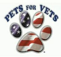 Pets For Vets Donation and 2016 Holiday Raffle Entry