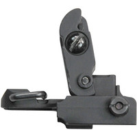 JBI Flip-Up Rear Sight, Metal construction for MIL4/MIL16 AEGs.