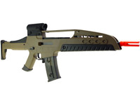 SRC XM8 Gen II AEG Metal Airsoft Rifle AEG, Desert Tan