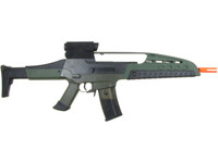 SRC XM8 Gen II AEG Metal Airsoft Rifle AEG, OD Green