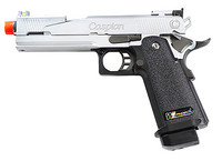 TSD Tactical WE Hi-Capa 5.1 Dragon Gas Blowback Pistol - Silver