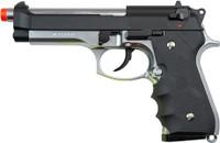 TSD Tactical M9X 2-Tone Green Gas Airsoft Pistol