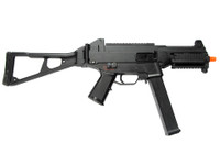 Double Eagle M89P AEG Airsoft SMG with Red Dot Sight and Flashlight