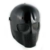 Army of Two Airsoft Mask, Black, Stamped Steel Mesh