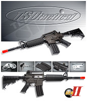 TSD Tactical Gen-II AEG model SR4 A1 All-Metal Airsoft Rifle