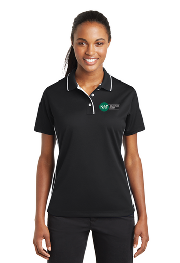 Ladies Sport Tek Dri-Mesh Embroidered Polo