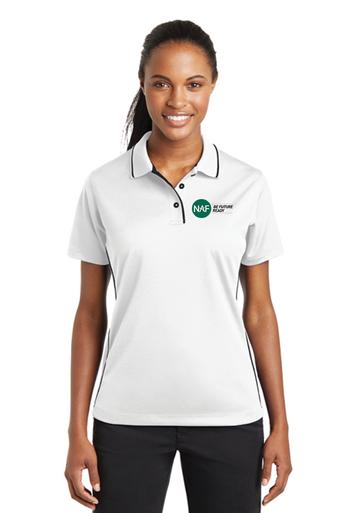 Ladies Sport Tek Dri-Mesh Embroidered Polo