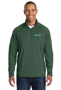 Embroidered Sport-Wick Stretch 1/2-Zip Pullover