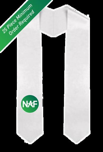 Printed NAF Graduation Stole