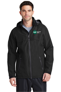 Embroidered Mens Torrent Rain Jacket