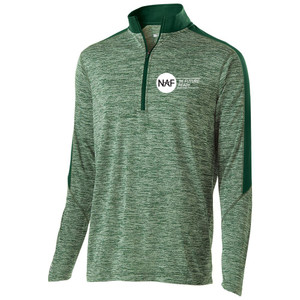 Men's 1/2 Zip Electrify Pullover (Green)