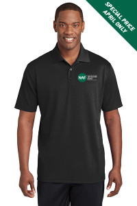 Racermesh Polo (Black)