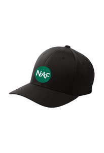 Embroidered Flexfit Fitted Hat (NAF LOGO on FRONT)