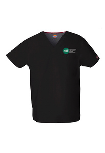 Embroidered Dickies Medical Unisex Scrub Top