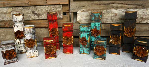 Rosa candle Holder sets