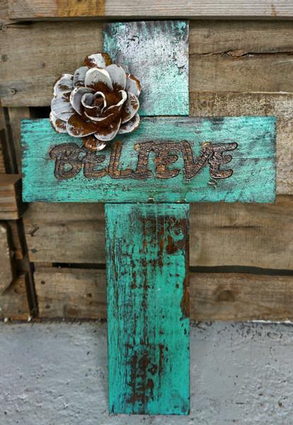 Word Cross- Believe