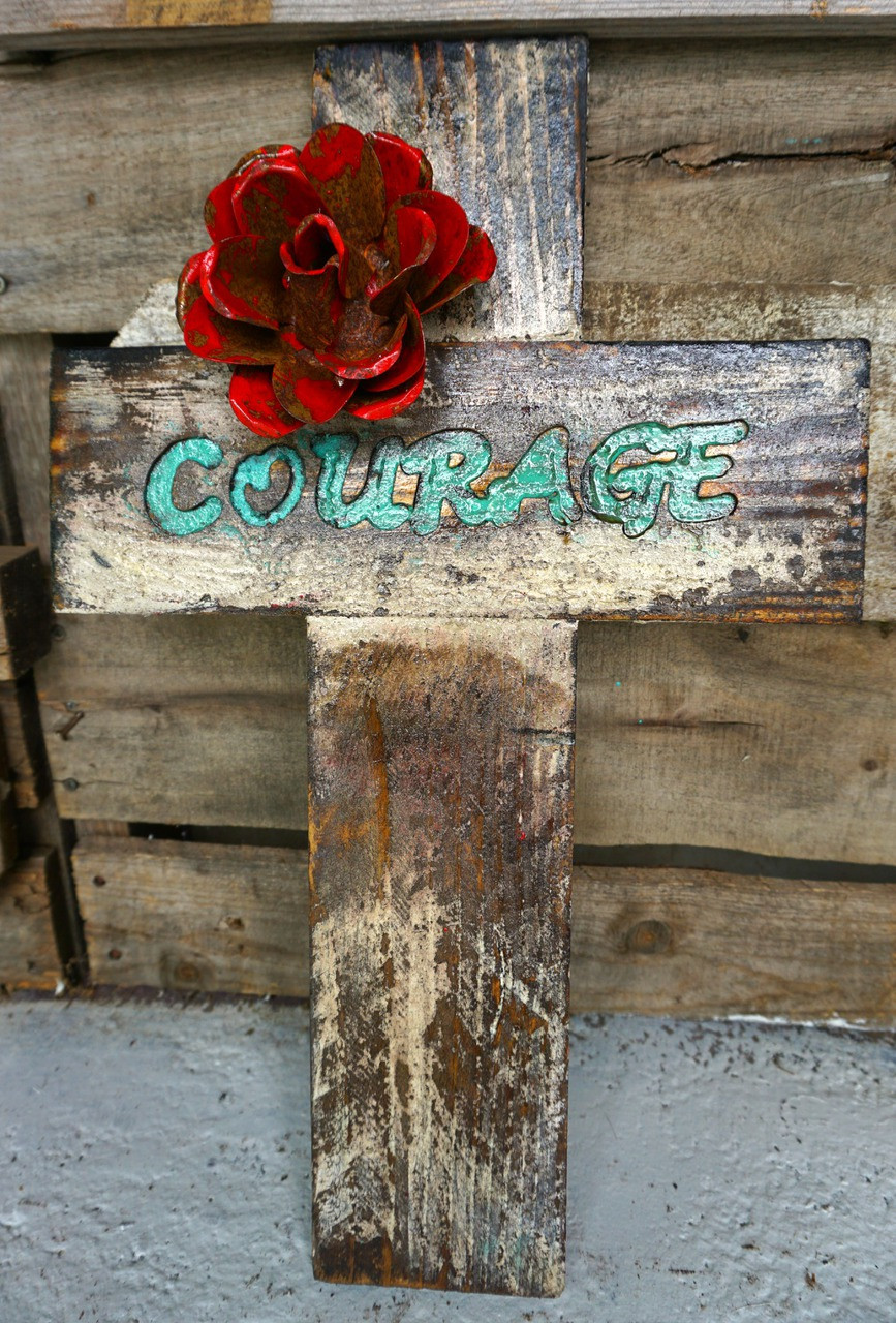 Word Cross - Courage