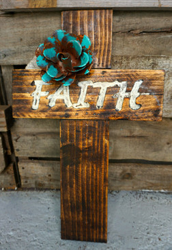 Word Cross - Faith
