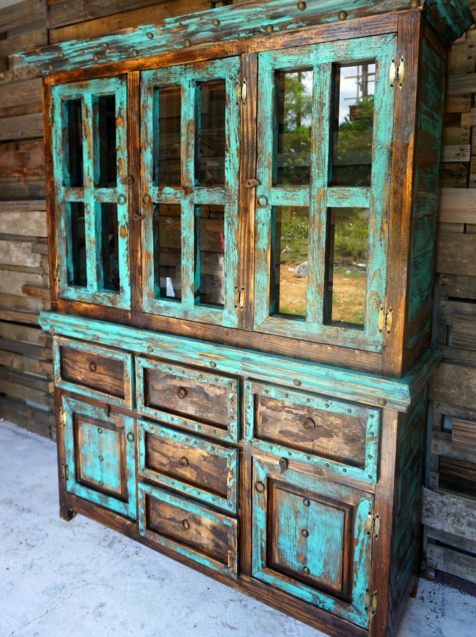 Rustic hutch sofia s furniture