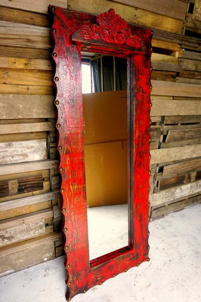 Grande Agave Mirror