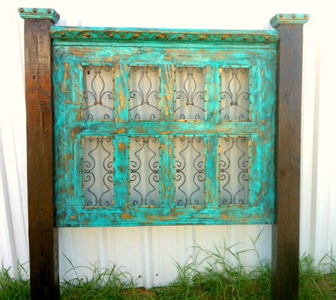 All That Iron Headboard