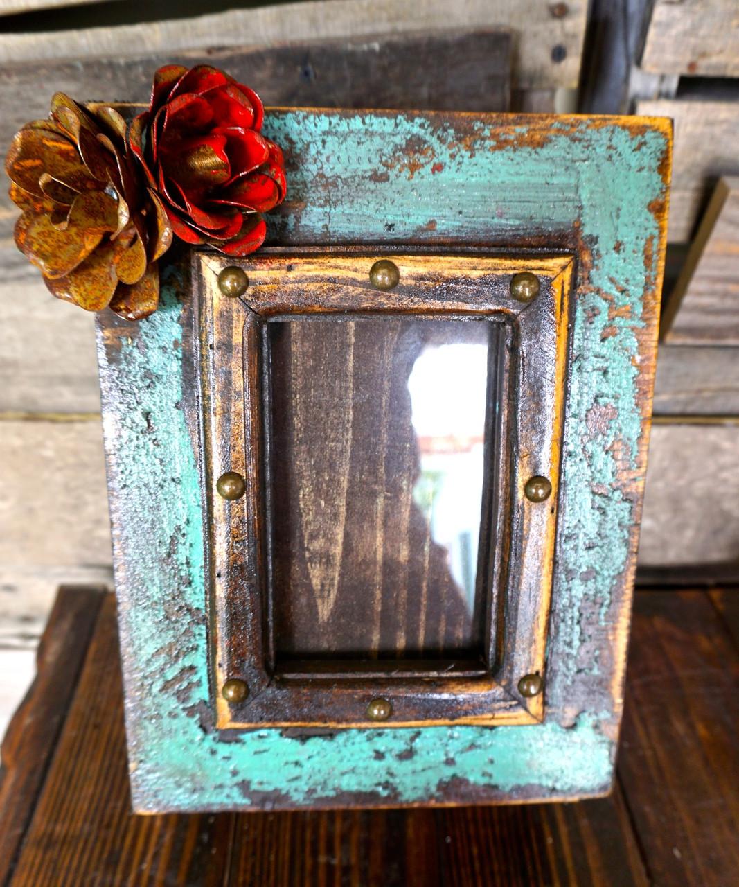 Caja De Amor Memory Box in Turquoise