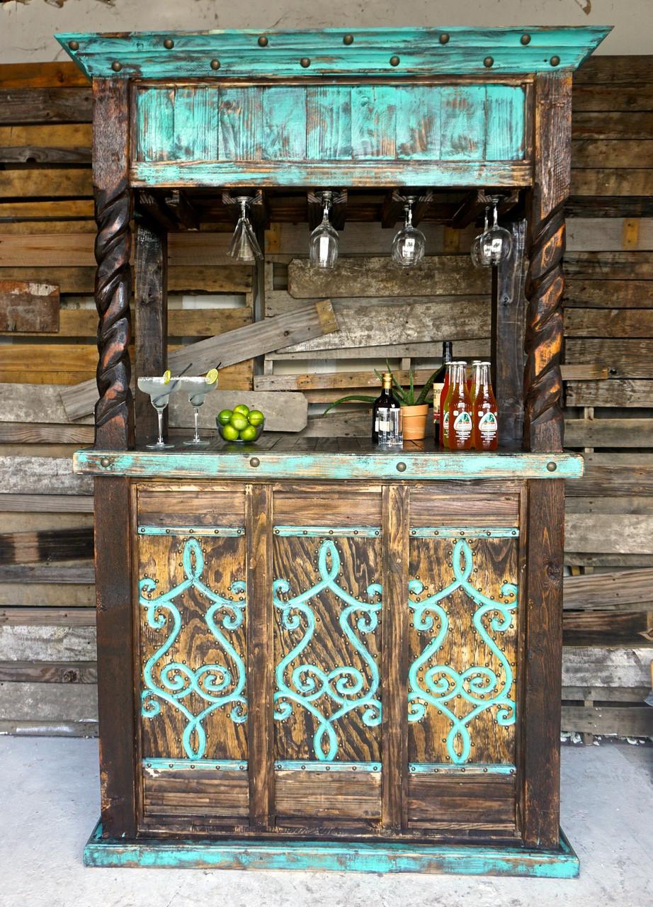 Laredo Cantina Bar In Turquoise