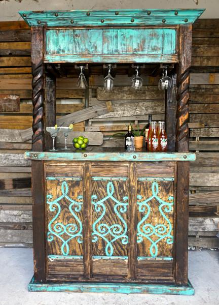 San cristobal cantina bar sofia 39 s rustic furniture Home bar furniture san diego