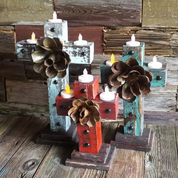 Basilica Candle holder set of 3