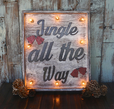 Jingle All the Way Marquee