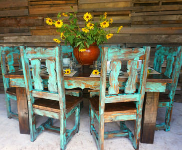 Teo Traditional Dining Table for 6