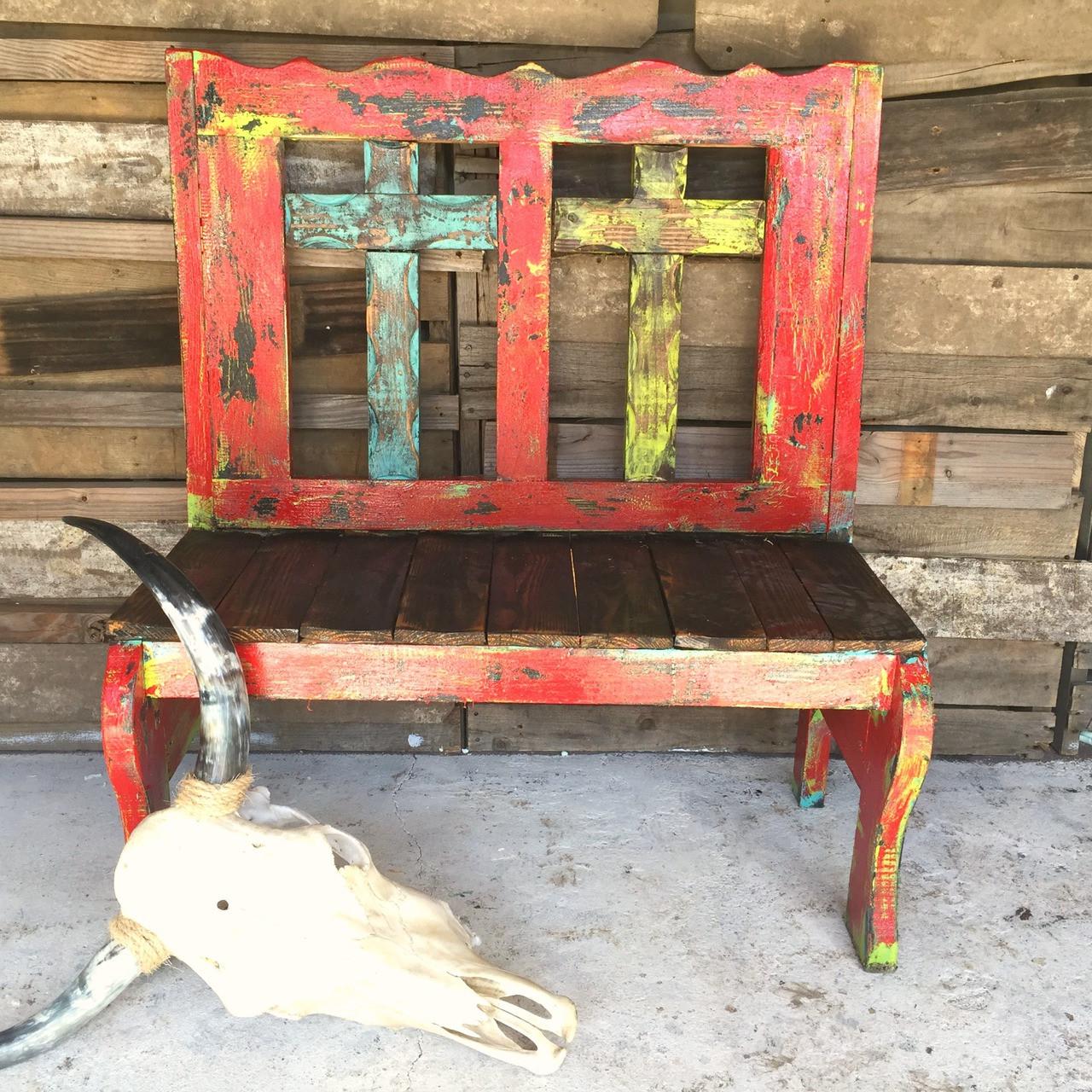 Red Fiesta Tajo 2 Cross Bench ...