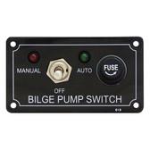 Switch panel bilge pump