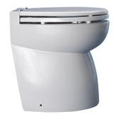 Hydrovacuum toilet system standard head bevelled