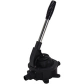 Manual bilge pump with removable handle
