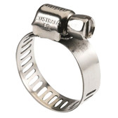Hose clamp stainless steel perforated micro box of 10