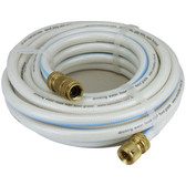 Hose polyethylene drinking water hose with brass quick connect fittings