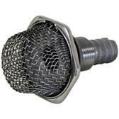 316g stainless steel thru hull mesh strainer